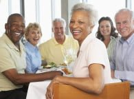 Seniors at Table